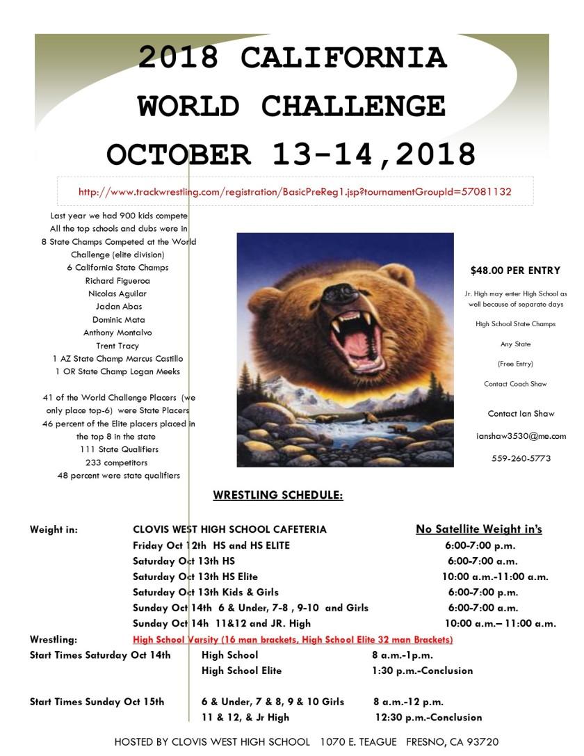 challenge flyer2018